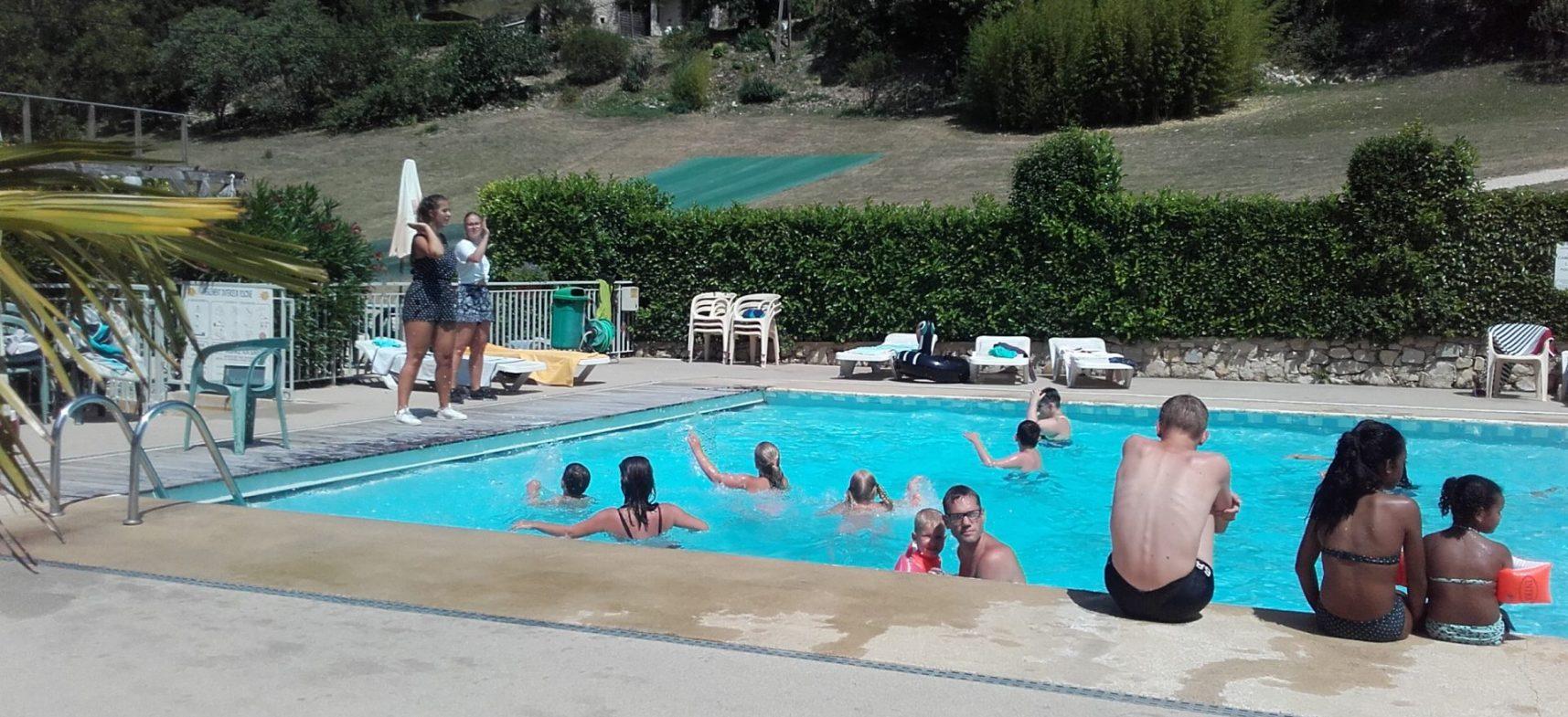 Camping La Poche : Anim. Pisc Noa