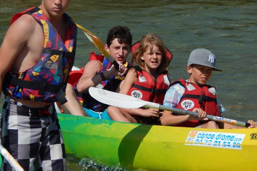 Camping La Poche : Canoë