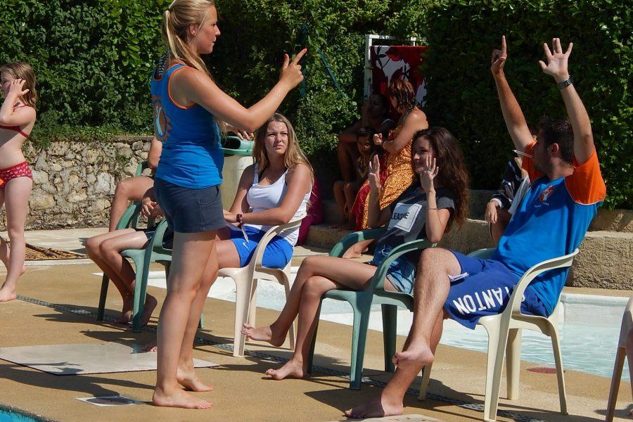 Camping La Poche : activité aquatique