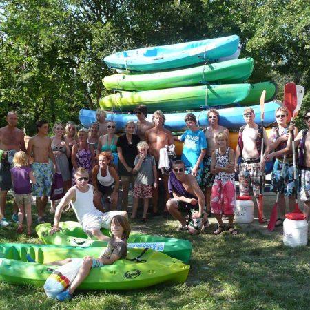 Camping La Poche : kayak