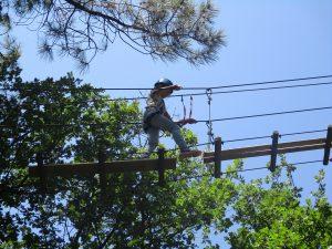 Camping La Poche : acrobranche