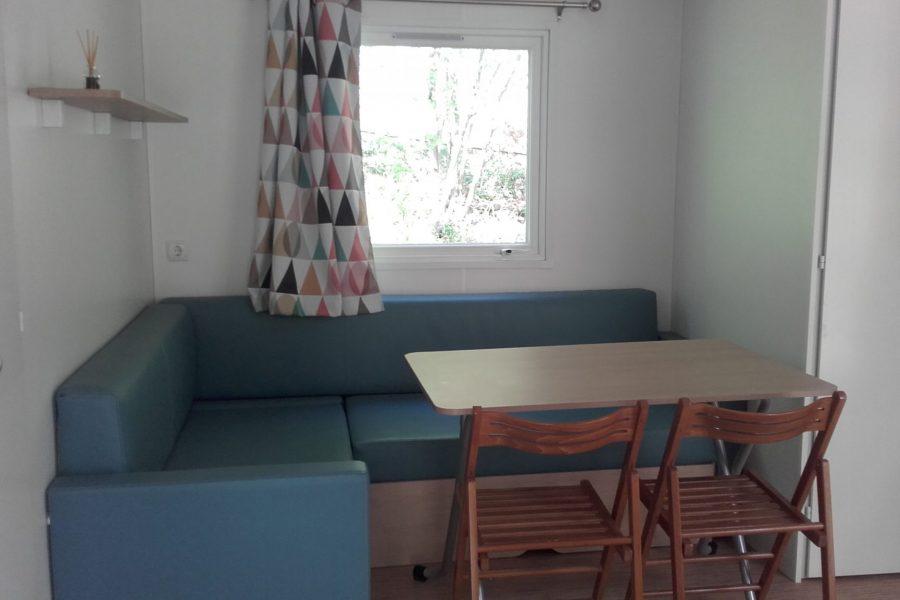 Interieur mobil-home drôme