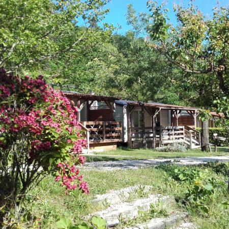 Location mobil-home camping Drôme provençale