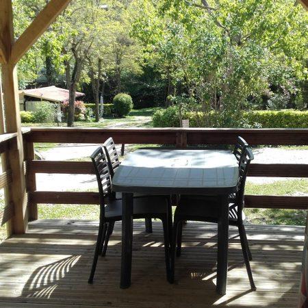 Camping La Poche : Terrasse Mh 7