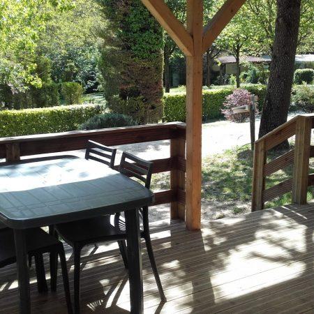 Camping La Poche : Terrasse Mh 7b
